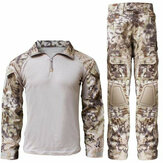Wosport Waterproof Tactical Uniform Military Army Combat Training Suit Breathable Jacket Pants