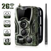 Suntek HC-801M 2G 1080P HD 16MP IP65 à prova d'água para caça em trilhas de animais selvagens Suporte GPRS GSM MMS SMTP SMS