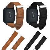 Replacement Retro Matte Leather Watch Band For XIAOMI HUAMI AMAZFIT