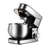 5L 1200W Electric 6 Speed Cake Stand Mixer Food Mixing Bowl Beater Dough Blender