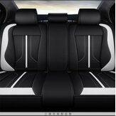 4Pcs Polyester Fiber 6D Car Full Surround Seat Cover Cushion Protector Set Universal for 5 Seats Car