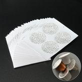 100Pcs 37mm Aluminum Foils Lids Sticker For Refilling Coffee Capsule
