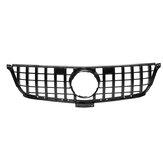 GTR Diamond Style Γυαλιστερό μαύρο μπροστινό γκριλ σχάρα για Mercedes Benz W166 ML ML300 ML320 ML350 ML400 2012-2015