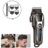 LCD Digital Display Oil Head Scissors Adult Hair Clipper Electric Clippers