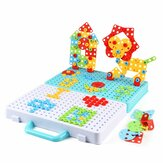 188/275pcs Small Manual DIY Disassembly Toy Nut Assembly 3D Screw Puzzle Toy Building Blocks Creative Gifts for Childrens
