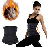 Men Women Waist Trainer Body Shaper Cincher Tank Top Adjustable Sport Belts Spine Protector