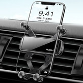 ROCK Universal Gravity Car Phone Holder Air Vent Mount No Magnetic GPS Stand For IPhone / Xiaomi / Huawei