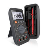 JIMI JM-G3401 Multi-function Digital Multimeter Mini Anti-burning Universal Ammeter Automatic Capacitance Meter