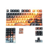 104 Chaves Saturn Keycap Set OEM Profile PBT Five-Sided Sublimation Keycaps para teclado Mecânico