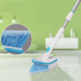 Retractable Floor Brush Bathroom Kitchen Extendable Ceramic Wall Cleaning Brush