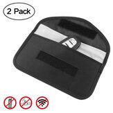 2 حزمة إشارة حجب حقيبة GPS RFID فاراداي حقيبة خلية هاتف حماية الخصوصية درع قفص الحقيبة المحفظة هاتف حالة خلية DOOGEE S88 Plus حالة