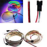 5V WS2812B 43W 144 SMD 5050 RGB LED Strip Impermeable IP65 Individual Direccionable