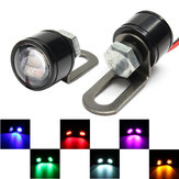 Par 12V Motorcycle Mirror Montaje Ojo de Águila Flash LED Strobe Backup DRL Luces Lámpara