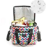 10LPicknick-TascheThermischeIsolierteThermokühlerIsolierte Tote Mittagessen Lebensmittelbehälter BBQ Aufbewahrungsbox