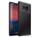 Bakeey Protective Case For Samsung Galaxy Note 9 Slim Carbon Fiber Fingerprint Resistant Soft TPU Back Cover