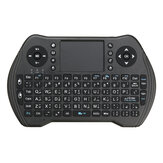 MT-10 2.4G Mini árabe recargable Teclado Touchpad Air ratón Airmouse
