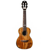 Мистер Май MM-C / MM-T Concert / Tenor Ukulélé 23-дюймовый 26-дюймовый укулеле Solid Koa Wood Gloss Finish Mini Hawaii Guitar