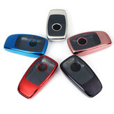 2 IN 1 TPU Remote Smart Key Case Fob Cover with Button Film For Benz E/S Class E300 E400 S63 S65