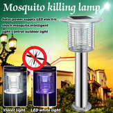 Solar Violet LED Electric Shock Mosquito Intelligent Light-c