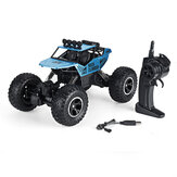 1:12 RC Car with Rechargeable Battery and Remote Control 2.4G 4WD Off Road Monster RC Climbing Trucks Toys RC Vehicle Model for Kids