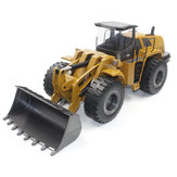 HuiNa Toys 583 6 Channel 1/18 RC Metal Bulldozer Carga de carga Coche Metal Edition