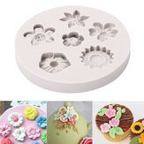 Flor Silicona Fondant Mould Cake Cake Decorating Baking Mold Sugarcraft Pastry herramienta
