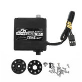 JX RD-5622MG-180 22KG Digital Metal Double Axis Steering Gear 180° Servo For RC Robot