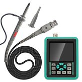 Handheld Mini Digital Oscilloscope with 2.4 Inches TFT Color LCD Screen 120M Bandwidth 500M Sampling Rate for Maintenance and DIY Electronic Test