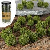 Modelo Escala Árvore Cluster Jardim Ferroviário Cenário Layout Miniatura Paisagem DIY Decorações