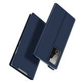 DUX DUCIS for Samsung Galaxy Note20 Ultra Case Flip with Card Slot Stand Shockproof PU Leather Full Cover Protective Case
