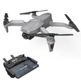 F007 5G WIFI FPV GPS Com 4K HD ESC Câmera de cardan autoestabilizadora 25mins Tempo de vôo Brushless RC Drone Quadricóptero RTF