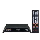 GTMEDIA V8 PRO2 DVB-S2 DVB-T2 DVB-C H.265 HD Receptor de sinal de TV a cabo digital terrestre de satélite Caixa Suporte IPTV