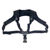 فيالهواءالطلقالصيدتسلقالتكتيكي الصدرية حزام P90 تعليق حبل السلامة الرياضية المهنية حبل