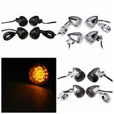 4Pcs 39mm Rear Motorcycle Bullet LED Turn Signal Light For Harley Davidson Sportster Dyna Bobber