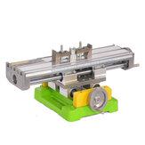 MINIQ BG-6350 Banco de perforación de accesorios Mesa de trabajo de taladro Tornillo multifuncional X Mesa de coordenadas de ajuste del eje Y para máquina de grabado