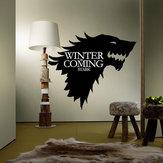 T-5 Game Of Thrones Stark Family Godło Ice Wolf Naklejki ścienne Grawerowane naklejki ścienne