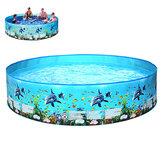 183 / 244x38cm Geen behoefte aan opblaasbaar zwembad Zomervakantie Kinderen Kinderbaden Strand Familie Game Zwembad