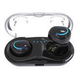 [Werkelijk draadloos] HBQ Q18 Bluetooth-oortelefoon met 650mAh oplader Box Noise Cancelling Sweatproof