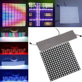 8*32cm 16*16cm WS2812B 256 Pixel 5050 RGB Digitale Modulo Striscia LED Programmata in Colore di Fantasia DC5V