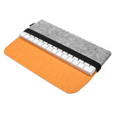 Felt PU Leather Protection Sleeve Case Storage Bag for Apple Magic Keyboard