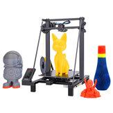 Kit d'imprimante 3D LONGER® LK5 Pro FDM 300x300x400mm Taille d'impression 90% pré-assemblé / grand format / attaches diagonales doubles / avec treillis équipé de verre / carte mère silencieuse et open source