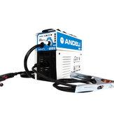 ANDELI MIG-250E AC220V EU-stekker Digitaal huishouden Eenfase Mini MIG-lasmachine Lassen zonder gas Flux Core Wire Inverter Welder