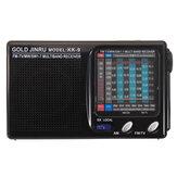 Portátil Full Banda Rádio FM Estéreo Speaker MW SW Receptor de Rádio de Ondas Curtas Receptor