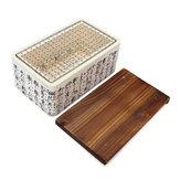 Mini tavolo da barbecue in ceramica Griglia per barbecue portatile all'aperto per barbecue in acciaio inossidabile