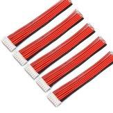 5NG 6S 7Pin 2.54XH 30cm Pin Lipo Sạc dây Silicone Cáp cân bằng mở rộng