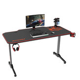 Mesa para jogos BlitzWolf® BW-GD2 Mesa de computador ampla e espaçosa mesa de 55 '' Estação de trabalho ergonômica para jogadores Design com mouse pad de mesa completa Pega de jogos Suporte para copos e fone de ouvido Gancho para home office