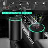 Bakeey Portable Mini Wireless Air Filter Purifier LED Generatore di ozono con ricarica USB con luce ambientale