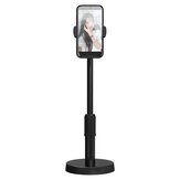 Bakeey 360° Rotatable Phone Desktop Holder Telescopic Selfie Stand for YouTube TikTok Live Stream Makeup