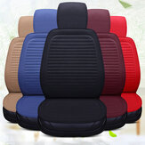 Universal Full Car Seat Cover Auto Linen  Breathable Cushion Pad Mat Protector