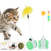 Cat Interactive Plush Toy Star Balls Plus Feather High Quality Plastic Material Throwing Funny Interactive Plush Toy Supplies